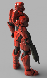 MARK VI [GEN1] SCARRED BACK